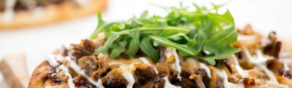 BBQ-Ranch Steak Flatbread